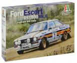Italeri 3650 Ford Escort RS 1800 MK.II Lombard 1:24
