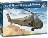 Italeri 2776 HUS-1 Sea Horse / UH-34D 1:48