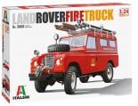 Italeri 3660 Land Rover Fire Truck 1:24
