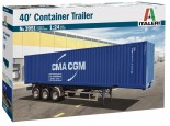 Italeri 3951 40' Container Trailer 1:24