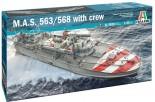 Italeri 5626 M.A.S. 563/568 with crew 1:35
