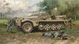 Italeri 6561 Sd.Kfz.10 Demag D7 + German Paratroops 1:35