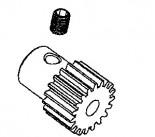 Motorritzel 16T M0.6 Stahl gehärtet