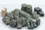 Tamiya Diorama-Set US Militär Zubehör Modern 1:35 35266