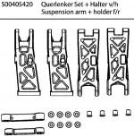 Carson 50 040 5420 X10ET Rock Warrior Querlenker + Halter