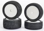 Carson 50 090 0136 All Terrain 4WD Reifen-Set (4)