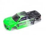 Arrma ARA402305 Granite 4X4 Karosserie grün/schwarz