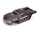 Arrma ARA406159 Kraton 6S EXB Karosserie schwarz
