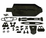 Carson 50 040 5422 X10ET Rock Warrior Chassis+Anbauteile-Set