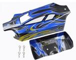Carson 50 080 0081 X10EB Dirt Warrior Sport Sport Karosserie+Spoiler