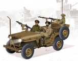Dragon 3609 IDF 1/4-Ton 4x4 Truck w/MG34 M1:35