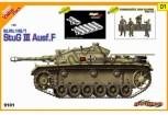 Dragon 9101 StuG.III Ausf.F+Sturmgeschütze Crew 1:35
