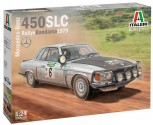 Italeri 3632 Mercedes 450 SLC Rally d Bandama'79 1:24