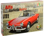 Italeri 3653 Alfa Romeo Giulietta Spider 1300 1:24