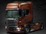 Italeri 3897 Scania R730 V8 Black Amber 1:24