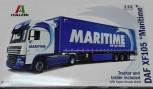 Italeri 3920 DAF XF105 trail MaritimeTransport 1:24
