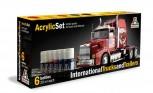 Italeri Acrylfarben-Set International Trucks and Trailers 6x20ml (100ml=11,08)