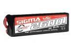2600mAh 11.1V 3S RC Plus Sigma 45C