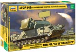"""Zvezda 3633 Russian anti-aircraft missile system TOR M2 SA-15 """"Gauntlet"""" M1:35"""