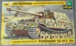"Zvezda 3653 Panzer Sd. Kfz184 ""Ferdinand Tiger"" 1:35"
