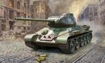 Zvezda 3687 T-34/85 Soviet medium tank 1:35