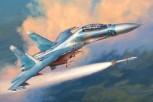 Zvezda 7294 Sukhoi SU-27 UB Flanker-C 1:72